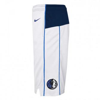 Nike NBA Dallas Mavericks Swingman Kids Shorts ''White''