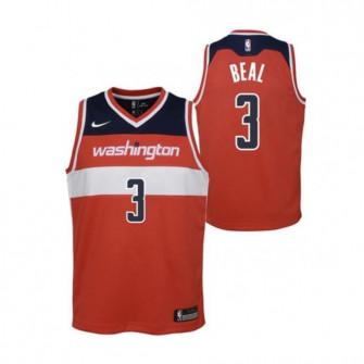 Nike NBA Washington Wizards Bradley Beal Kids Jersey ''Red''