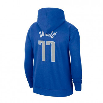 Nike NBA Dallas Mavericks Luka Dončić Kids Hoodie ''Blue''
