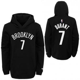 Nike NBA Brooklyn Nets Kevin Durant Kids Hoodie ''Black''