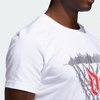 adidas Dame Logo T-Shirt ''White''