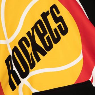 M&N NBA Houston Rockets Substantial Fleece Hoodie ''Black''