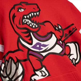 M&N NBA Toronto Raptors Substantial Fleece Hoodie ''Red''