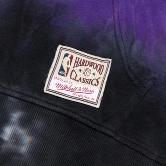 M&N Tie-Dye Los Angeles Lakers Hoodie ''Black/Purple''