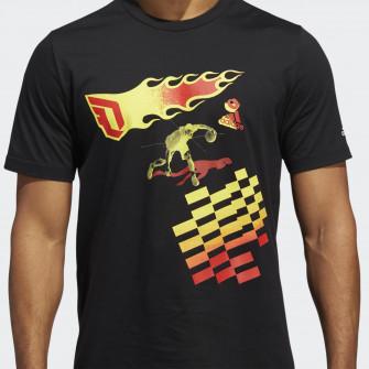 adidas Dame CZY T-Shirt ''Black''
