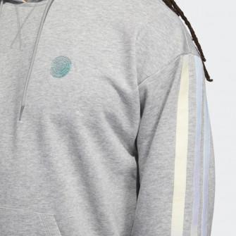 adidas Donovan Mitchell Logo Hoodie ''Grey''