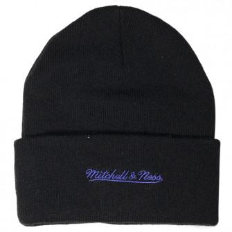 M&N Team Logo Toronto Raptors Cuff Knit Hat ''Black''