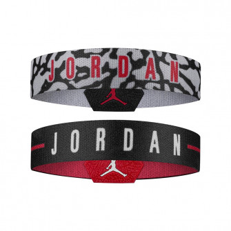 Air Jordan Basketball Baller Bands 2-Pack ''Red/Black/Grey''