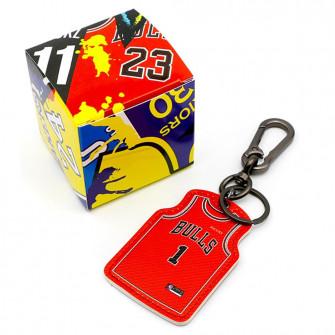 NBA Chicago Bulls Derrick Rose Jersey Keychain ''Red''