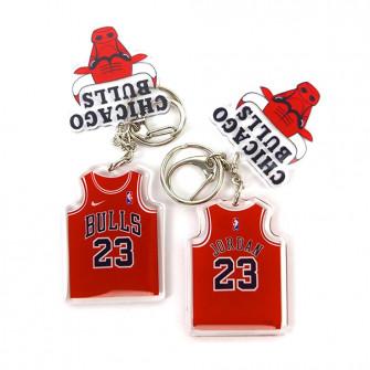 NBA Chicago Bulls Michael Jordan Keychain ''Red''