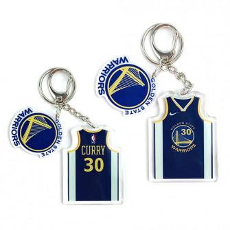 NBA Golden State Warriors Stephen Curry Keychain ''Blue''