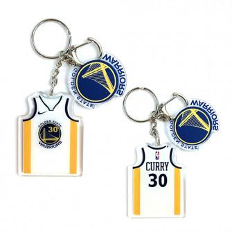 NBA Golden State Warriors Stephen Curry Keychain ''White''