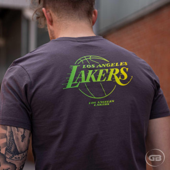New Era NBA Fade Los Angeles Lakers T-Shirt ''Grey''