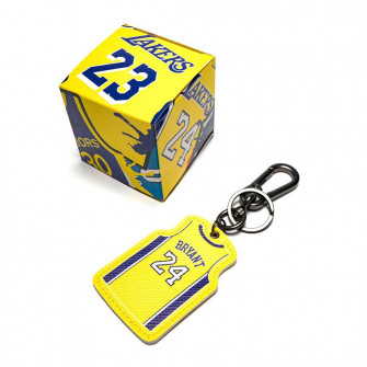 NBA Los Angeles Lakers Kobe Bryant 24 Keychain ''Yellow''