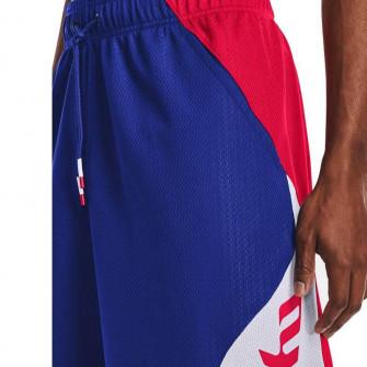 UA Joel Embiid Signature Shorts ''Blue/Red''