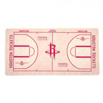 NBA Houston Rockets Basketball Court Style Mouse Pad
