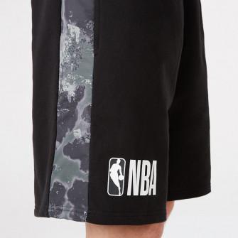 New Era NBA Logo Outdoor Utility Shorts ''Black''