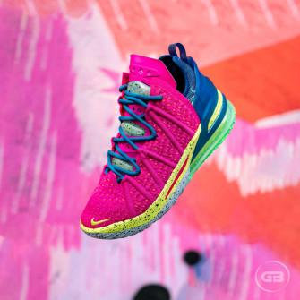 Nike LeBron 18 ''Los Angeles By Night''