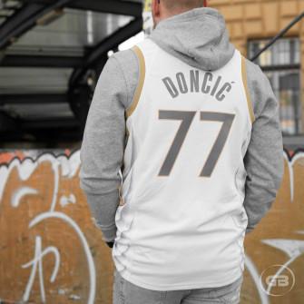 Nike NBA City Edition Dallas Mavericks Luka Doncic Jersey ''White''