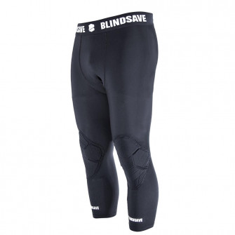 Blindsave 3/4 Tights with Knee Padding ''Black''