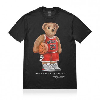 Sneaky Jordan Bear T-Shirt ''Black''