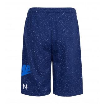 Air Jordan Jumpman Speckle Kids Shorts ''Blue''