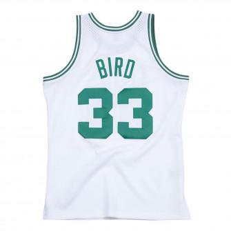 M&N Swingman Boston Celtics 1985-86 Larry Bird Jersey ''White''