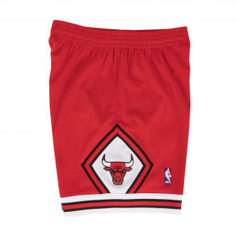 M&N NBA Chicago Bulls 1997-98 Swingman Shorts ''Red''