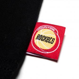 M&N NBA Houston Rockets Flames T-Shirt ''Black/Orange''