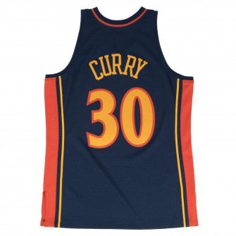 M&N NBA GS Warriors 2009-10 Road Swingman Jersey ''Stephen Curry''