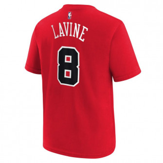 Nike NBA Chicago Bulls Zach LaVine T-Shirt ''Red''