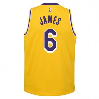 Nike NBA Los Angeles Lakers Lebron James Jersey ''Amarillo''