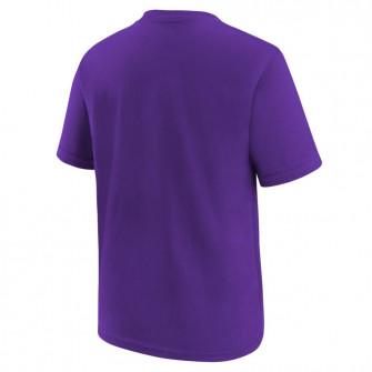 Nike NBA Logo Los Angeles Lakers Kids T-Shirt ''Purple''