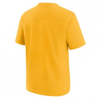 Nike NBA Logo Golden State Warriors Kids T-Shirt ''Yellow''
