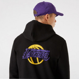 New Era NBA LA Lakers Neon Logo Hoodie ''Black''