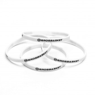 Grosbasket Bracelet ''White''