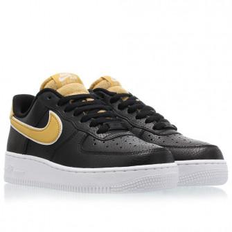 Nike Air Force 1 '07 SE WMNS ''Black/Yellow''